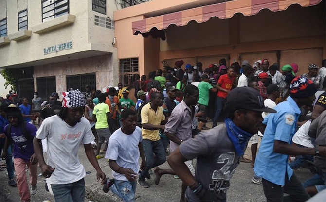 "Haiti: ""Streets Will Keep Burning"""