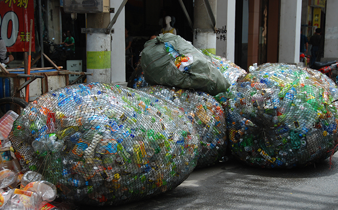 La Chine ne sera plus la poubelle du monde