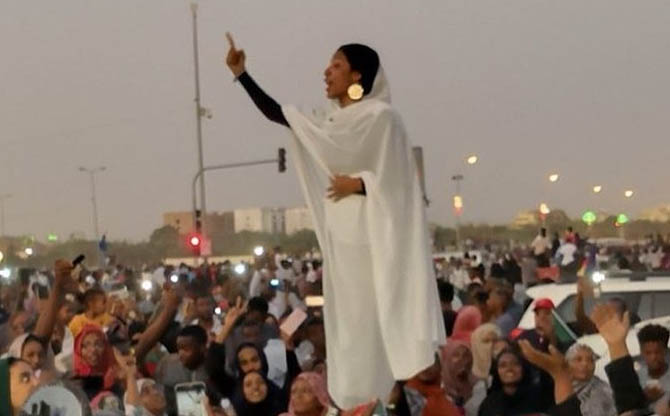 The female revolutionaries of Sudan