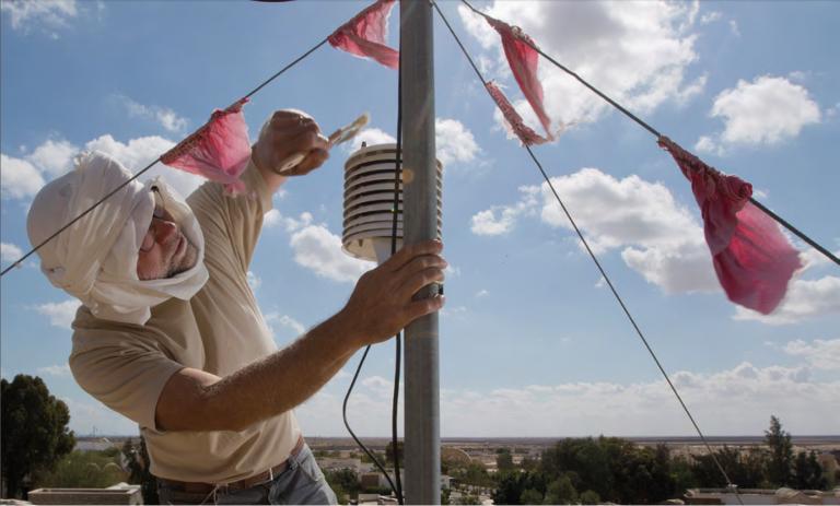 Les services climatologiques fournissent des données fiables et susceptibles d'améliorer à terme la sécurité alimentaire et la résilience climatique. © IRD / IRA / Christian Lamontagne