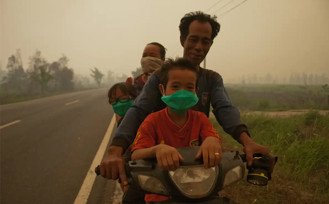 Health and the environment in Indonesia: you may not want to keep breathing