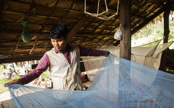 Cambodge : lutter contre le trafic d'antipaludéens