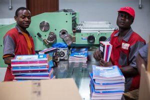 Transpaper Factory; In Kampala; Uganda © kibuuka Mukisa Oscar / AFD