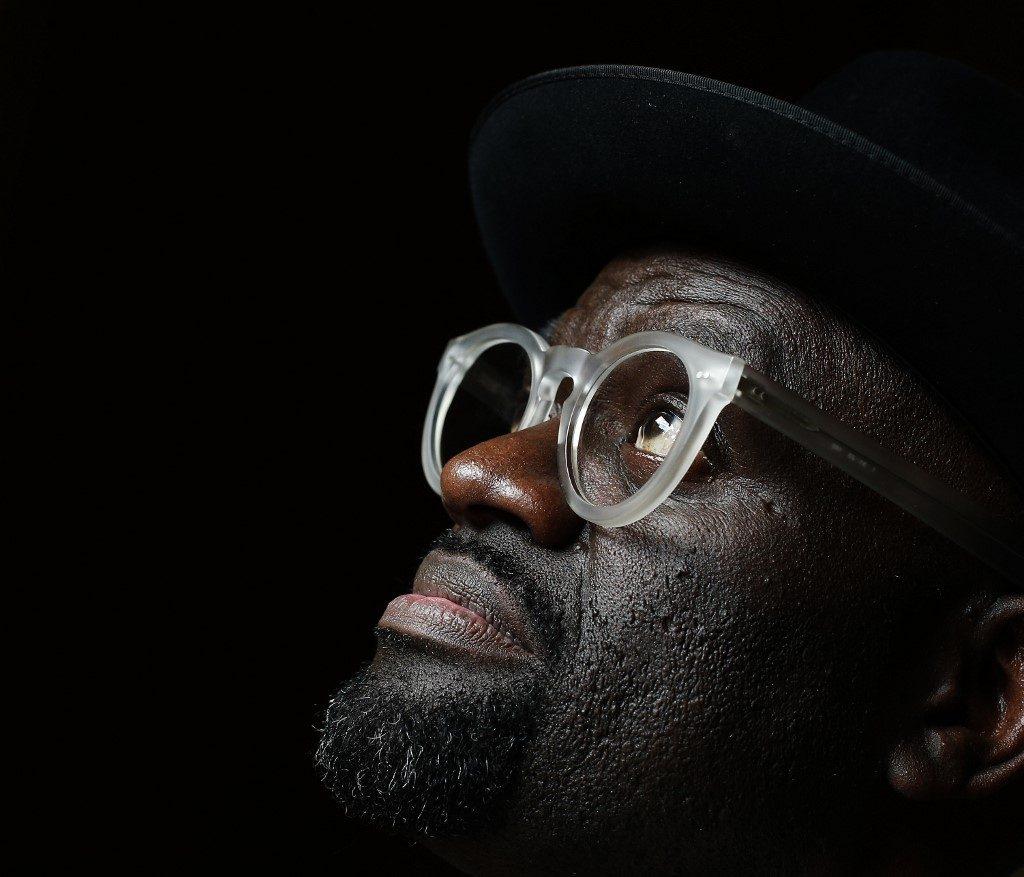 Congolese writer Alain Mabanckou Photo by ADRIAN DENNIS / AFP
