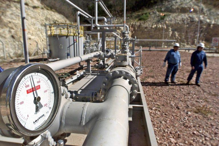Usine de gaz naturel de San Antonio, province de Tarija, Bolivie. Photo: AIZAR RALDES / AFP