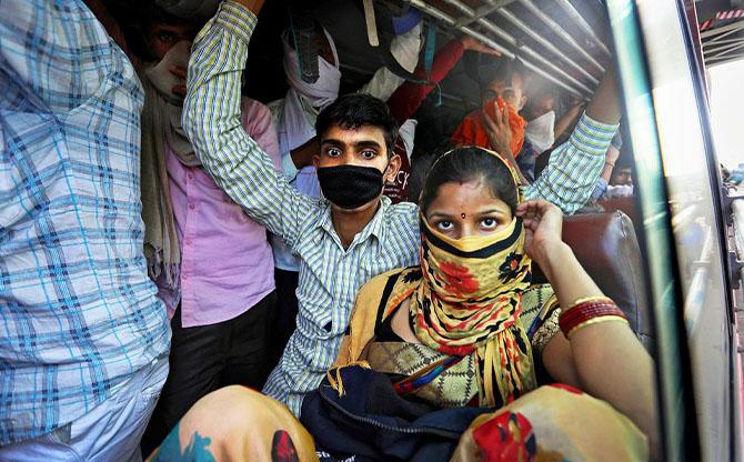 Inde : le confinement des plus démunis