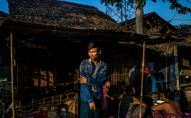 In Myanmar, surviving a pandemic with no safety net and no refrigerator