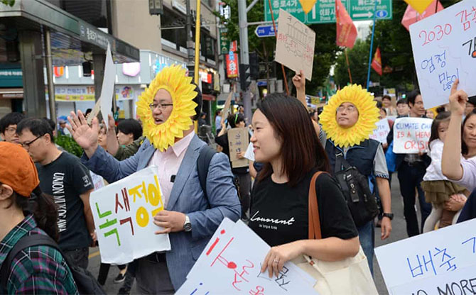 A Green New Deal for a new South Korea?