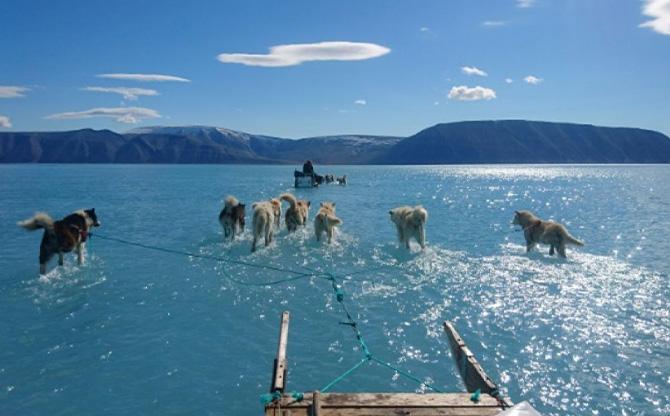 Fonte de la calotte glaciaire du Groenland : des répercussions en chaîne