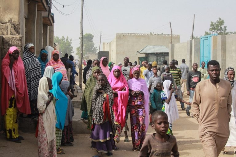 In a street in Sajeri, near the town of Maiduguri (northern Nigeria), in January 2019. Africa is home to the greatest genetic diversity in the world. (Photo: Audu Ali MARTE / AFP)