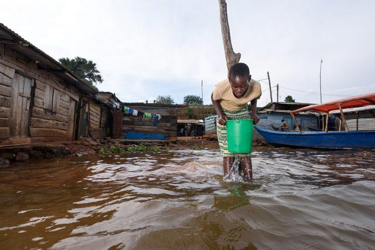 The fishing village of Ripon, near the town of Jinja, Uganda. Photo by Jjumba Martin